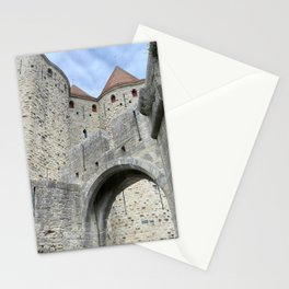 Fortifications inside the City of Carcassonne Stationery Cards