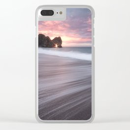 The Sunstar Clear iPhone Case