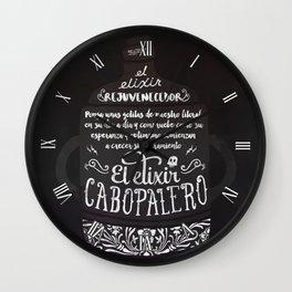 El Elixir Cabopalero Wall Clock