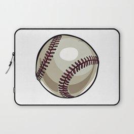 Cartoon Baseball Clipart Laptop Sleeve