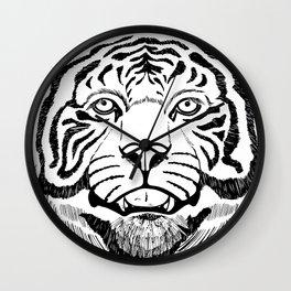 Festival Tiger Wall Clock