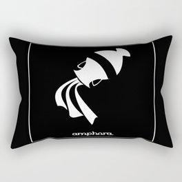 Aquarius ~ Amphora ~ Zodiac series Rectangular Pillow