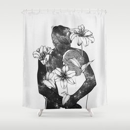 You are my flowery drug. Shower Curtain