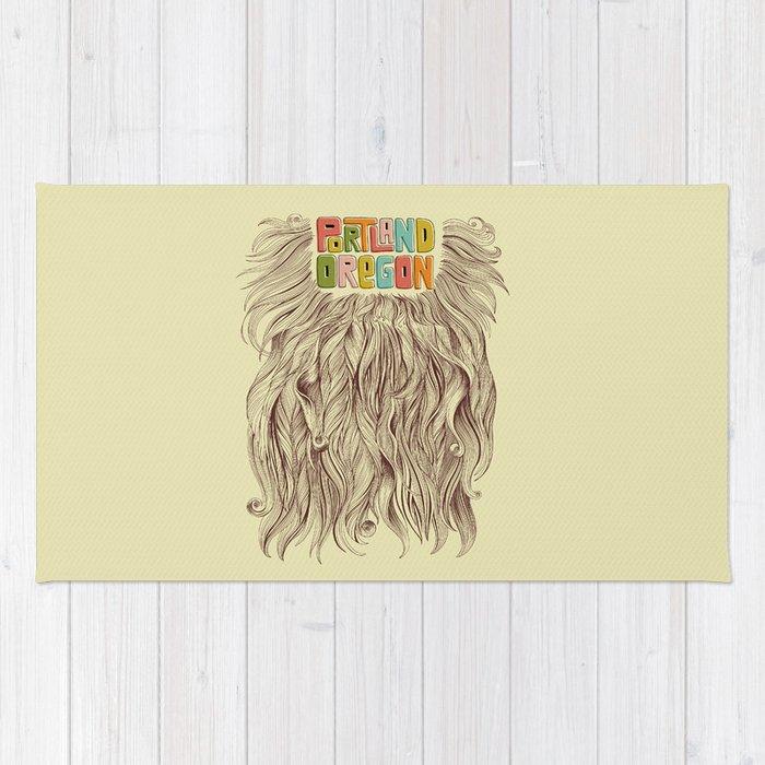 Portland = Beards Rug