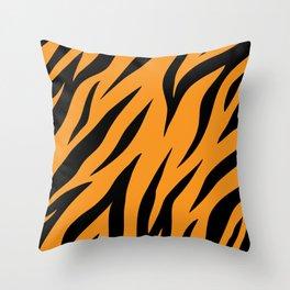 Tiger background #society6 #decor #buyart #artprint Throw Pillow