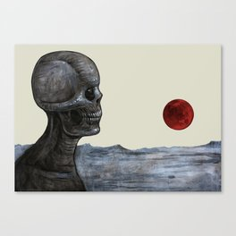 Doom Satellite Canvas Print