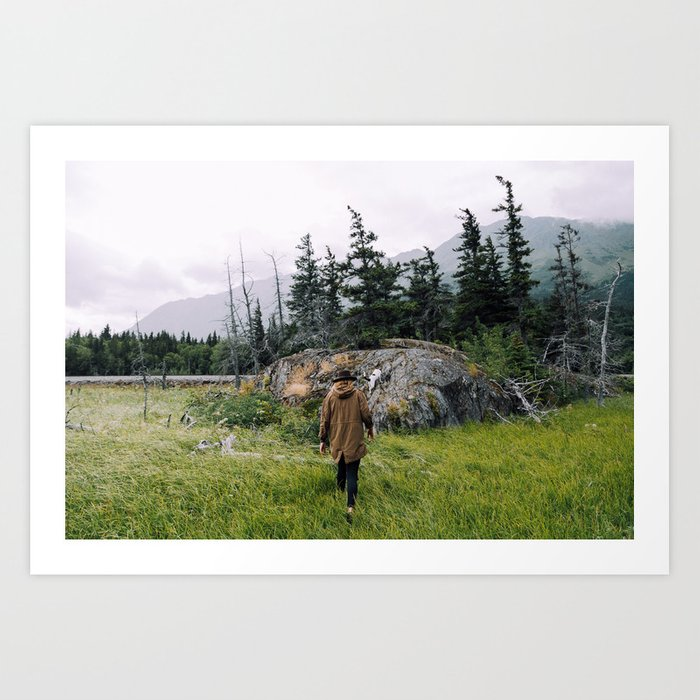 Chasing Adventure Art Print