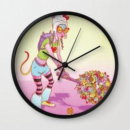 Modern Warrior 1 Wall Clock