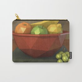 Low-polygon style still life painting Carry-All Pouch