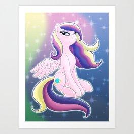 Princess Mi Amore Cadenza Art Print