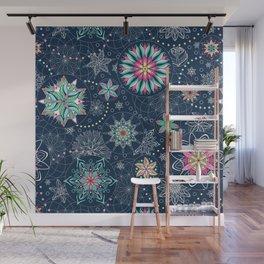 Circle Mandalas - kaleidoscope geometric circle patterns Wall Mural