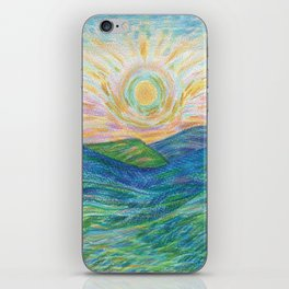 Sunrise Mountains iPhone Skin