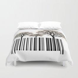 Responsible Consumerism Duvet Cover