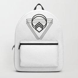 Triple Triangle Backpack