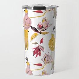 Birds and flowers Travel Mug