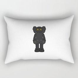 KAWS - Companion Open Edition Vinyl Figure Black Rectangular Pillow