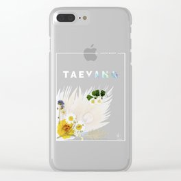 White Night Album - Taeyang Edition Clear iPhone Case