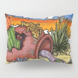 Desert Pot Pillow Sham