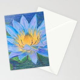 Egyptian Blue Lotus Stationery Cards