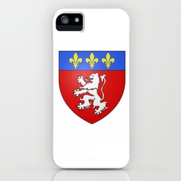 flag of Lyon iPhone Case
