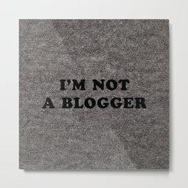 Blogger Metal Print