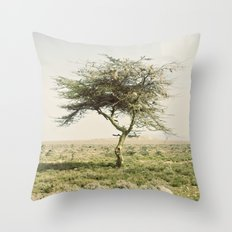 twist::kenya Throw Pillow