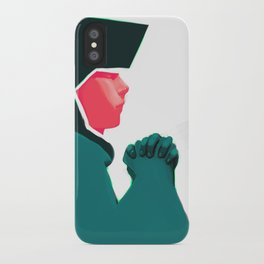 Untitled digital drawing iPhone Case