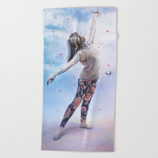 Alexandra Beach Towel