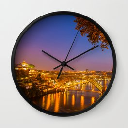 Porto Portugal Wall Clock