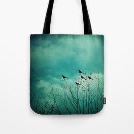 Like Birds on Trees Tote Bag