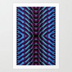 REFLECTED MARANTA 2 Art Print