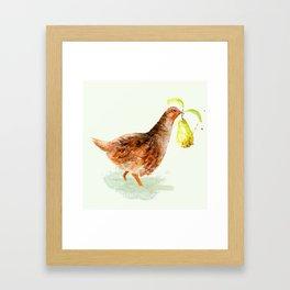 Partridge in a Pear Tree Framed Art Print