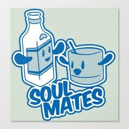 Soul Mates!  Canvas Print