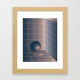Shape study #6 - Memphis Collection Framed Art Print