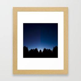 Spiegel im spiegel VIII Framed Art Print