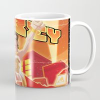 obey Mugs featuring Obey by Dr.Ink Maniac Division