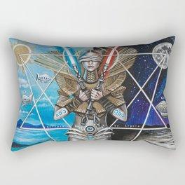 Eclipse 2 - Balance of 2 Swords Rectangular Pillow