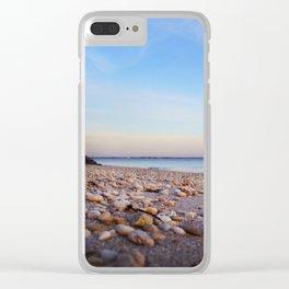 Rocky Beach Clear iPhone Case