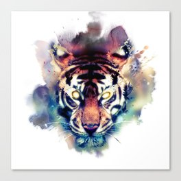 Tiger Awakened Canvas Print
