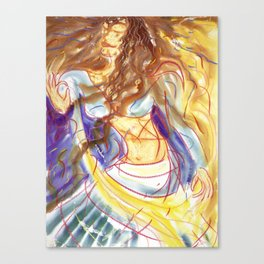 The Possessed Canvas Print
