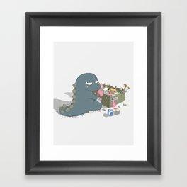 Godzelato! - Series 1: My Gelato Framed Art Print