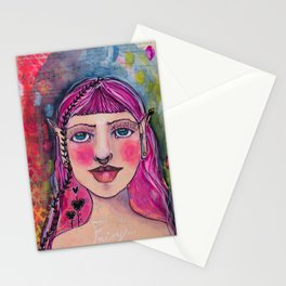 Flamboyant fairy Stationery Cards