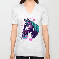 Pizza Pony Unisex V-Neck