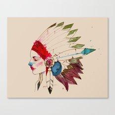 INDIAN Canvas Print