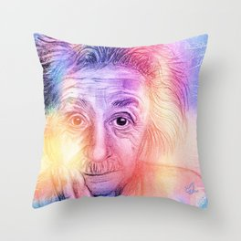 Speed of Thinking Throw Pillow