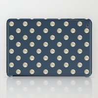 polka dot iPad Cases featuring Full Moon Polka Dot by Paula Belle Flores