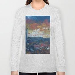 Stormy Evening Over Arizona Long Sleeve T-shirt