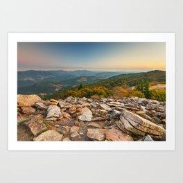 Spruce Knob Mountain Sunset Art Print