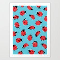Ladybird Print Art Print