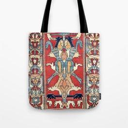 Sehna Kurdish Northwest Persian Rug Print Tote Bag